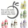1 Litre and FREE 500ml Special Offer